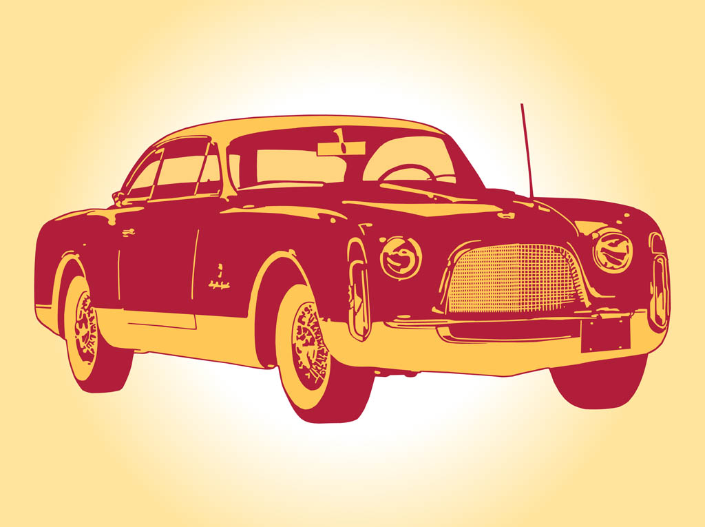 Vintage Car Graphics