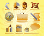 Free Symbols Icons Vector Set