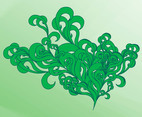 Swirling Plants Graphics