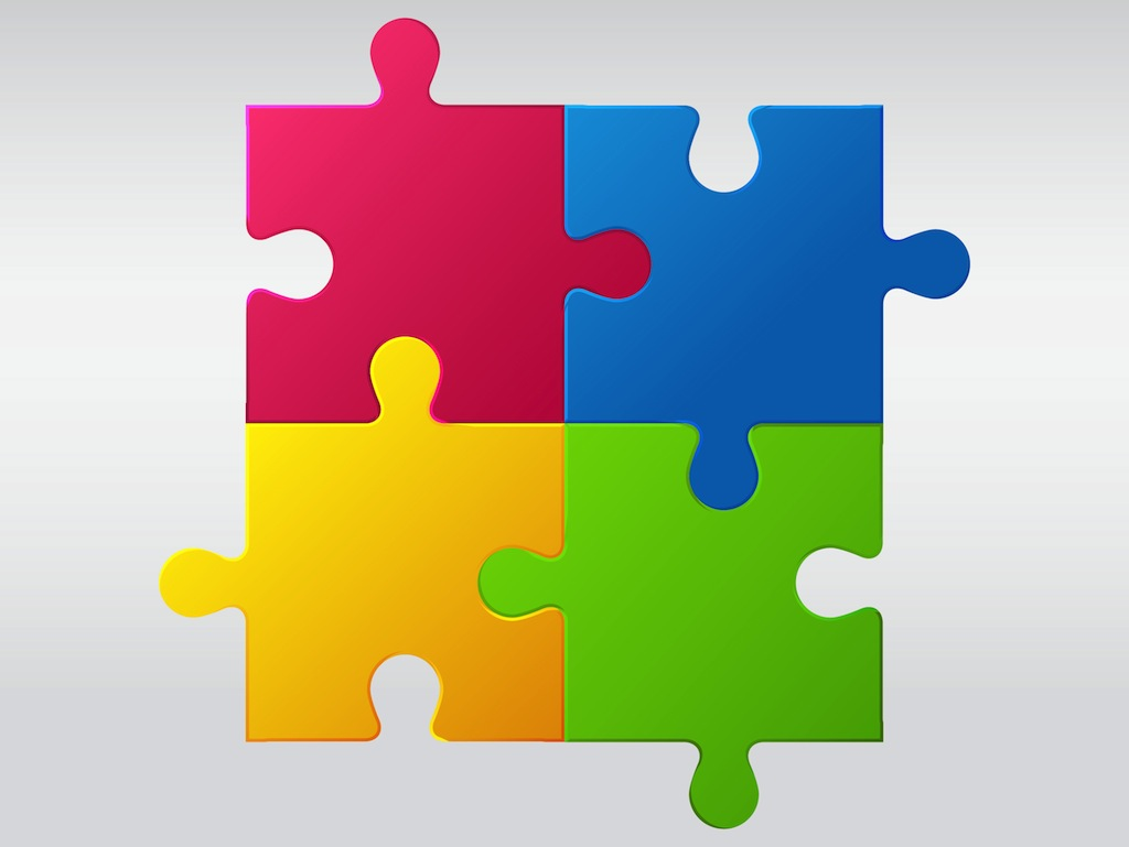Jigsaw Puzzle Vector Art & Graphics | freevector.com
