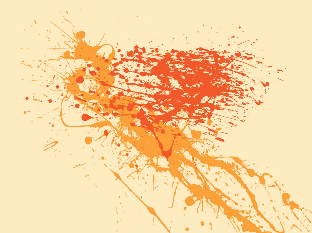 Splatter Vector Graphics