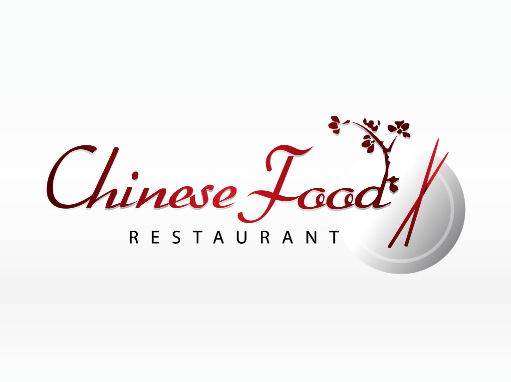 Asian Food Vector Logo
