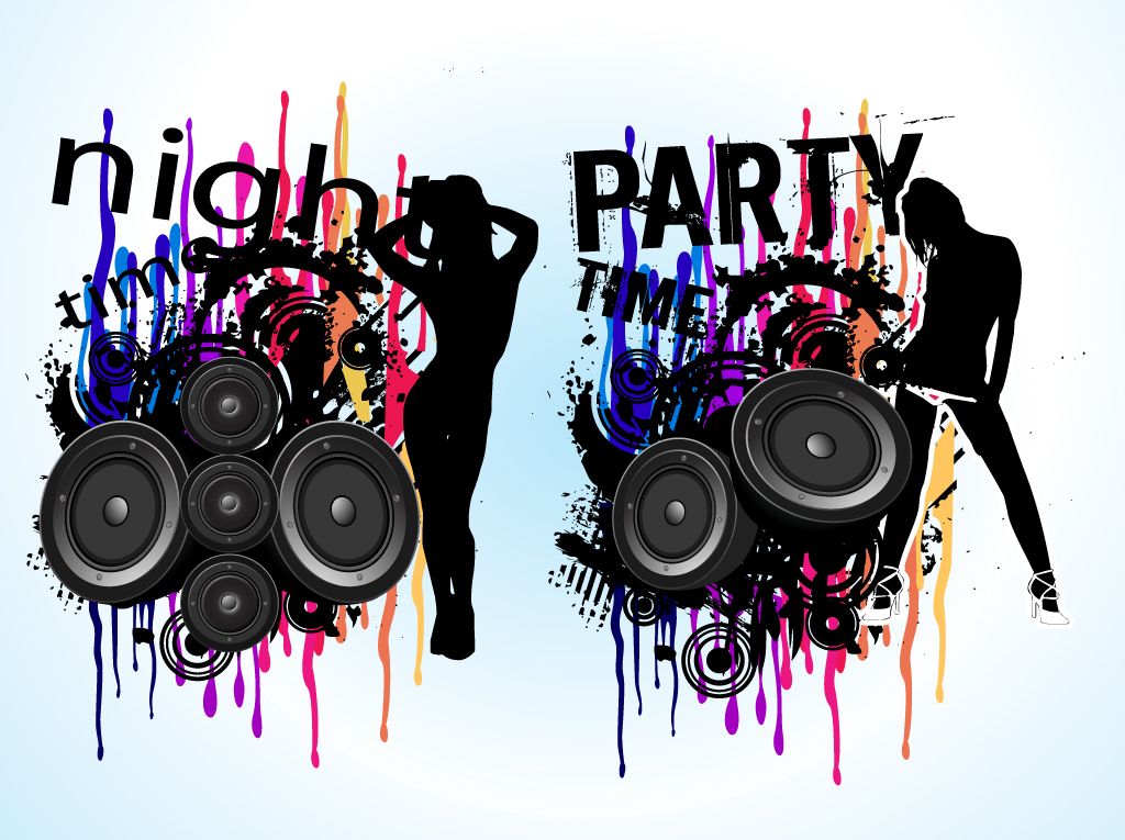 Night Party Vector Art & Graphics | freevector.com
