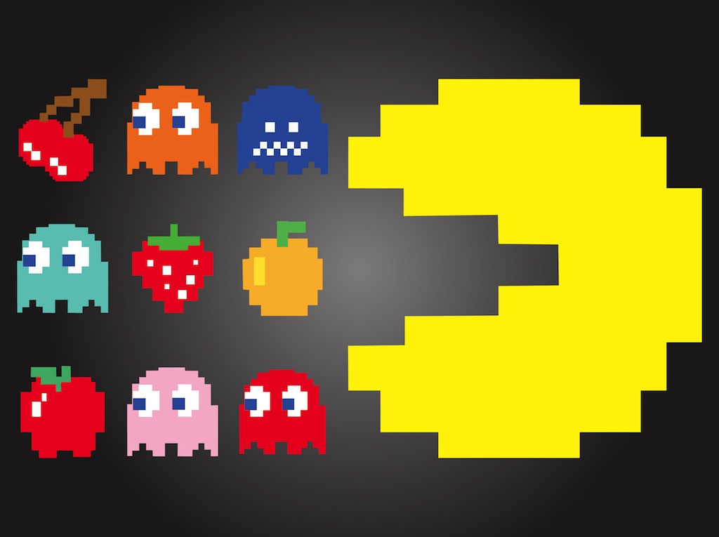 Pac-Man Characters