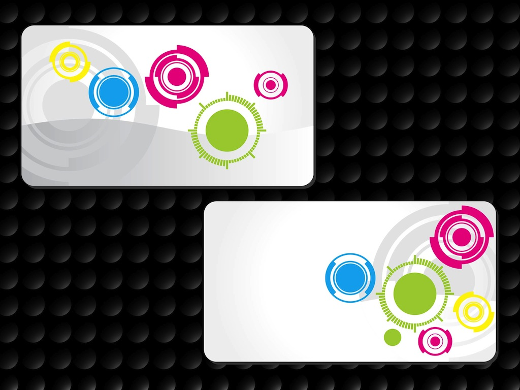 Circles Business Cards