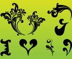 Decorative Scrolls Set