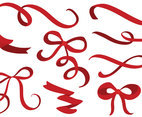 Free Ribbons Bows Vectors