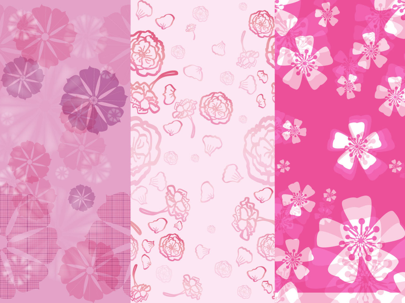 Flower Pink Backgrounds