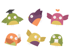 Cute Owl Character Pack