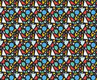 Free Abstract Geometric Pattern #6