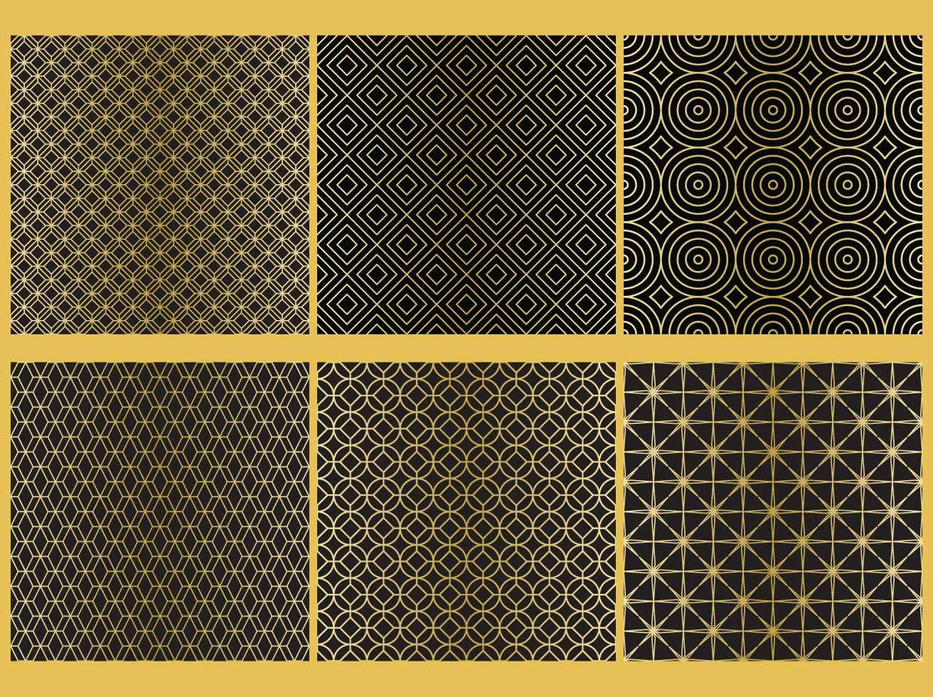 Golden Line Patterns