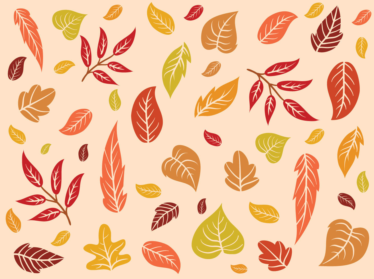 Free Fall Background Vectors