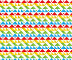 Free Rainbow Shape Background Vector