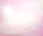 Beautiful Pink Sparkles Background