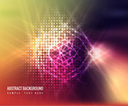 Free Vector Colorful Shiny Background