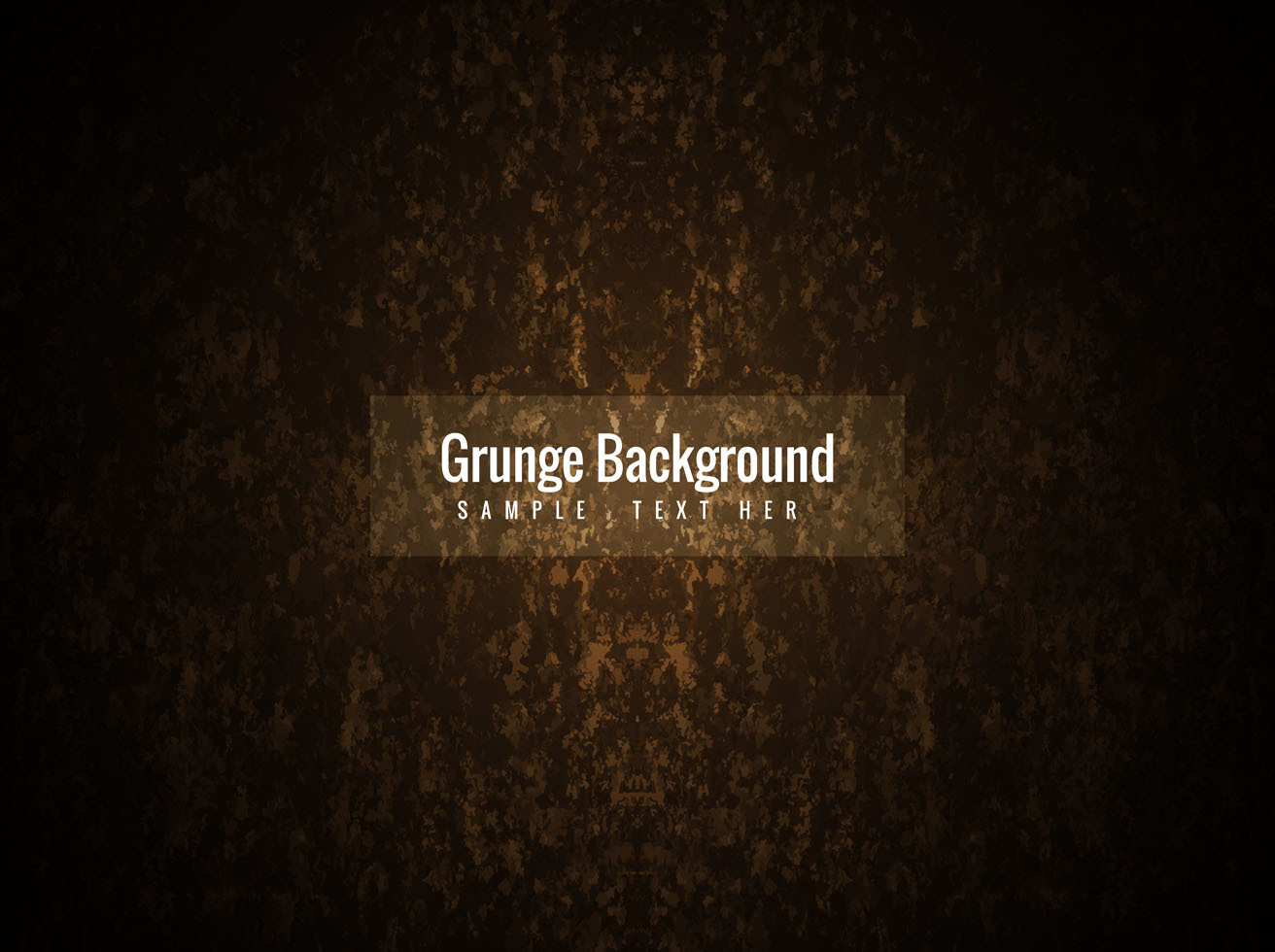 Free Vector Brown Color Grunge Background