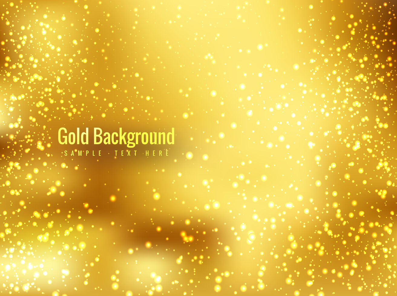 Free Vector Shiny Gold Background