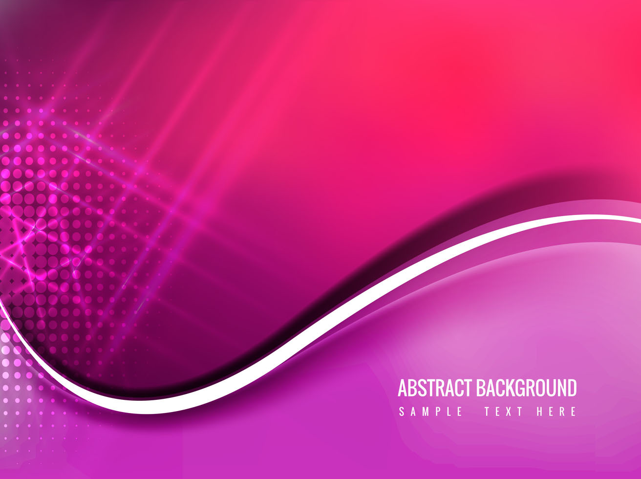 Free Vector Pink Color Abstract Background Vector Art ...