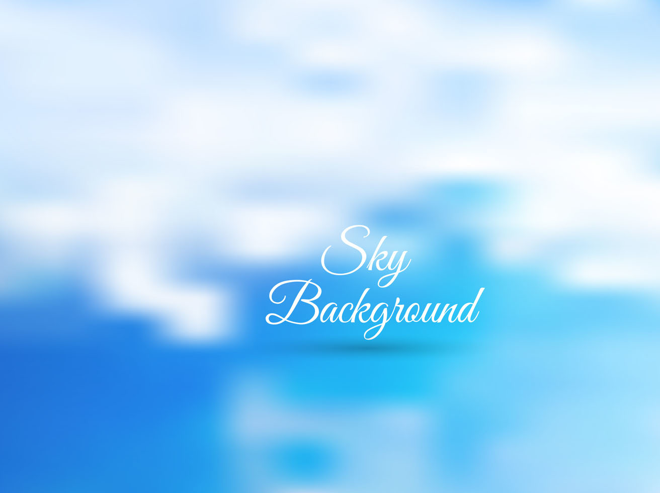 Free Vector Sky Background