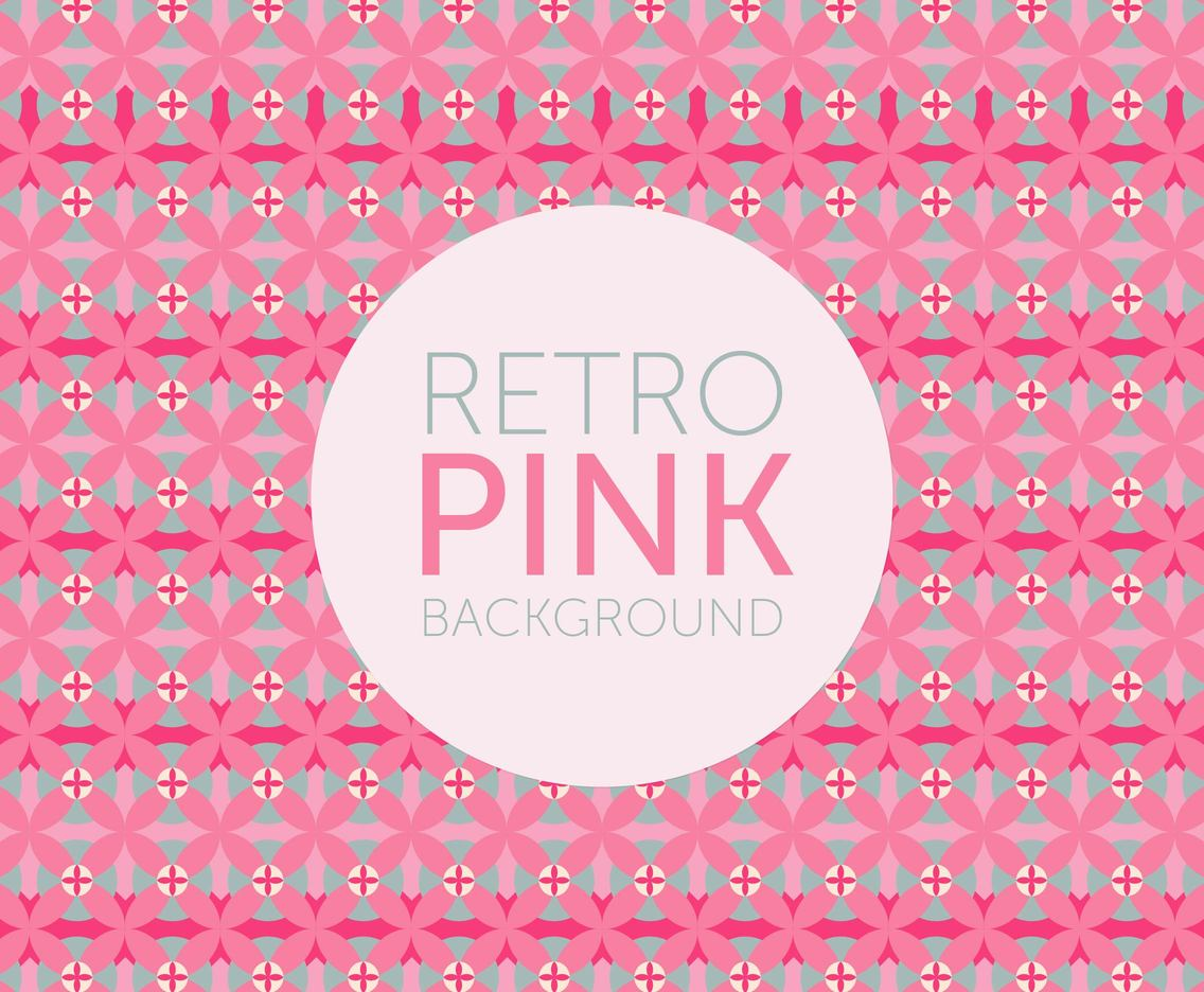 Retro Pink Background