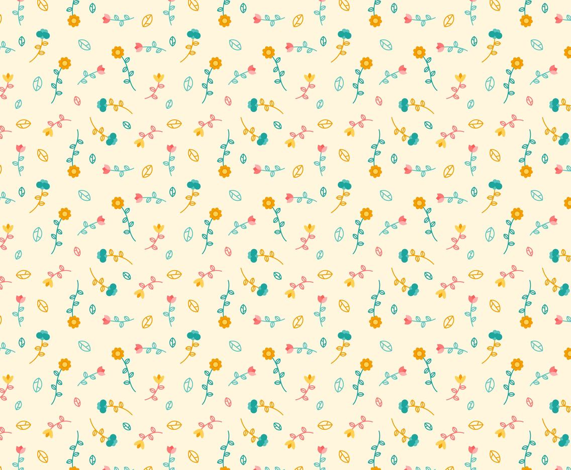 Free Floral Pattern #5