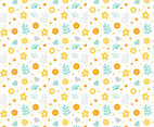 Free Floral Pattern #1