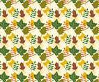 Free Beautiful Fall Background with Leaves