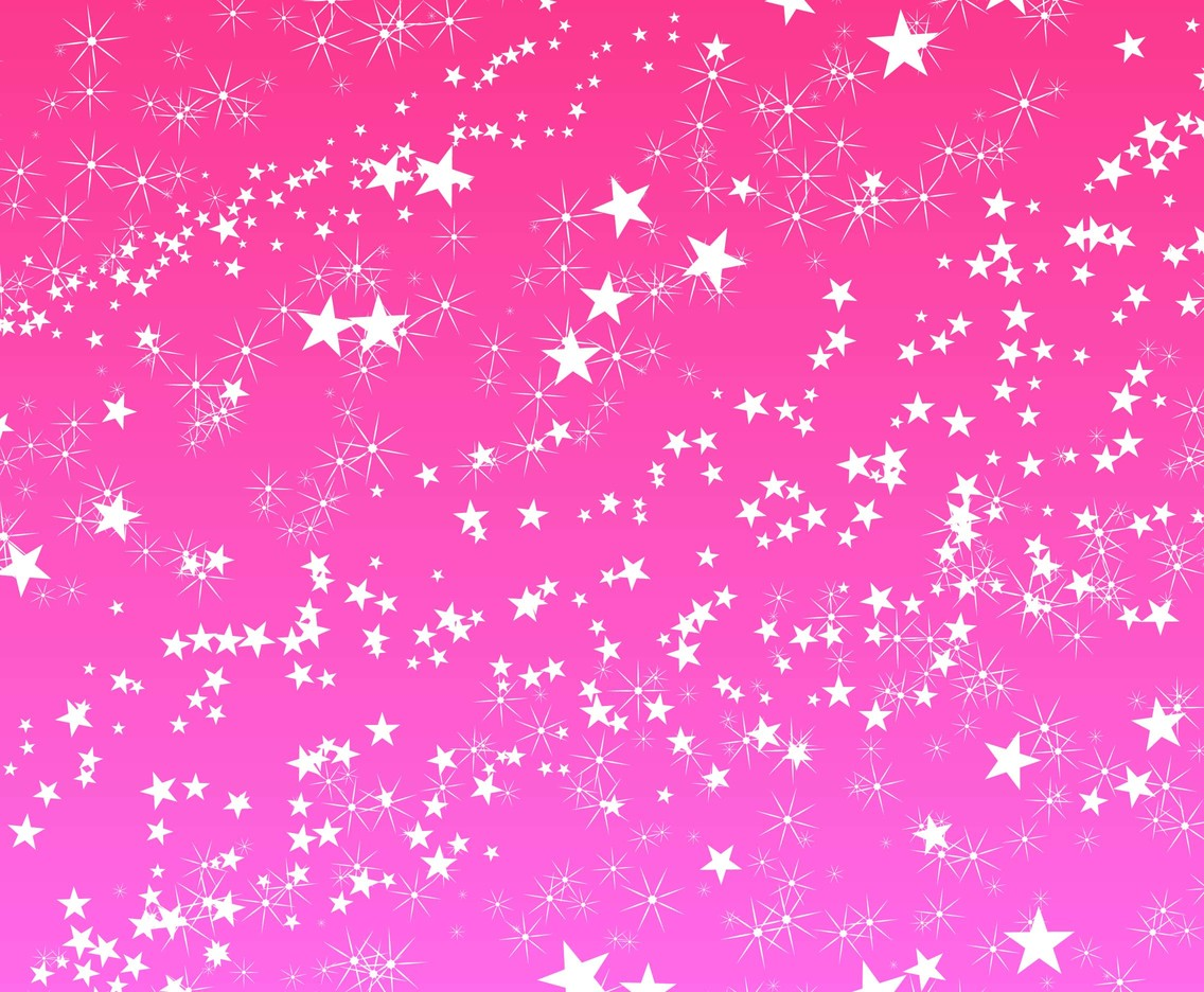 Free Pink Sparkles Vector Background
