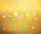 Gold Blurred Vector Background