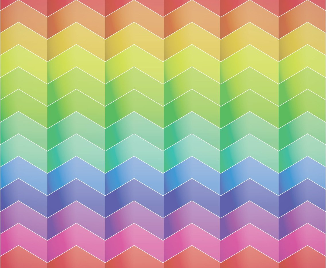 rainbow chevron background - photo #2
