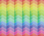 Chevron Rainbow Vector Background