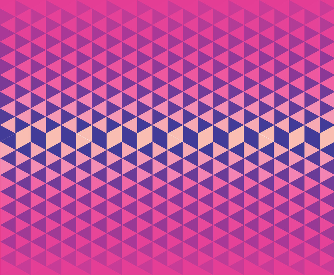 Geometric Vector Pink Background