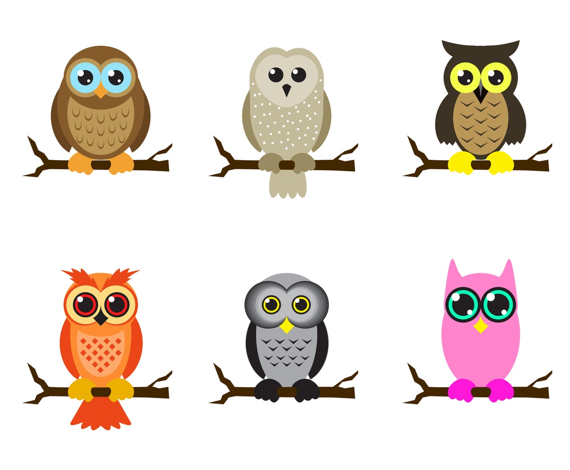 Vector Cartoon For Free Download About 5 514 Vector: Cute Owl Vector