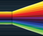Rainbow Background Vector
