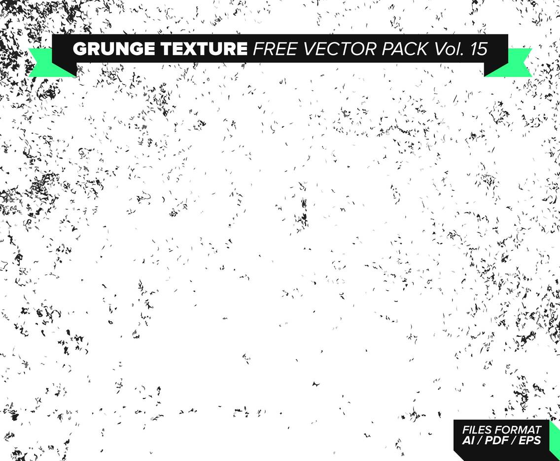 Grunge Texture Free Vector Pack 1