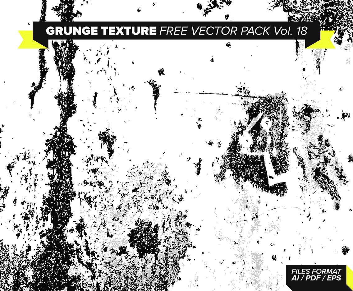 Grunge Texture Free Vector Pack Vol. 18