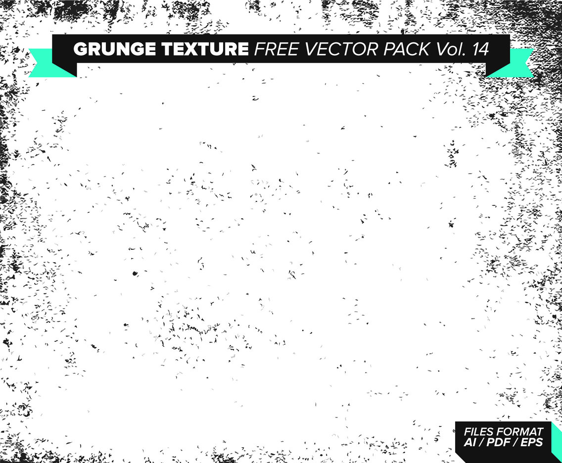 Grunge Texture Free Vector Pack Vol. 14