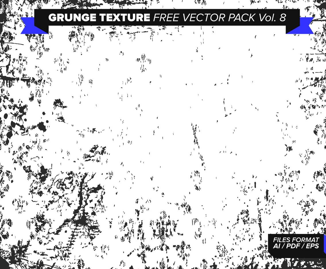 Grunge Texture Free Vector Pack Vol. 8