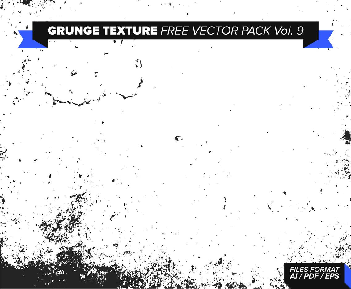 Grunge Texture Free Vector Pack Vol. 9