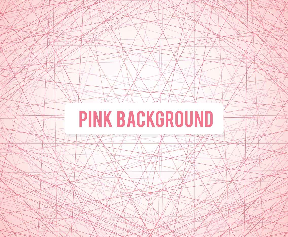 Pink Line Background