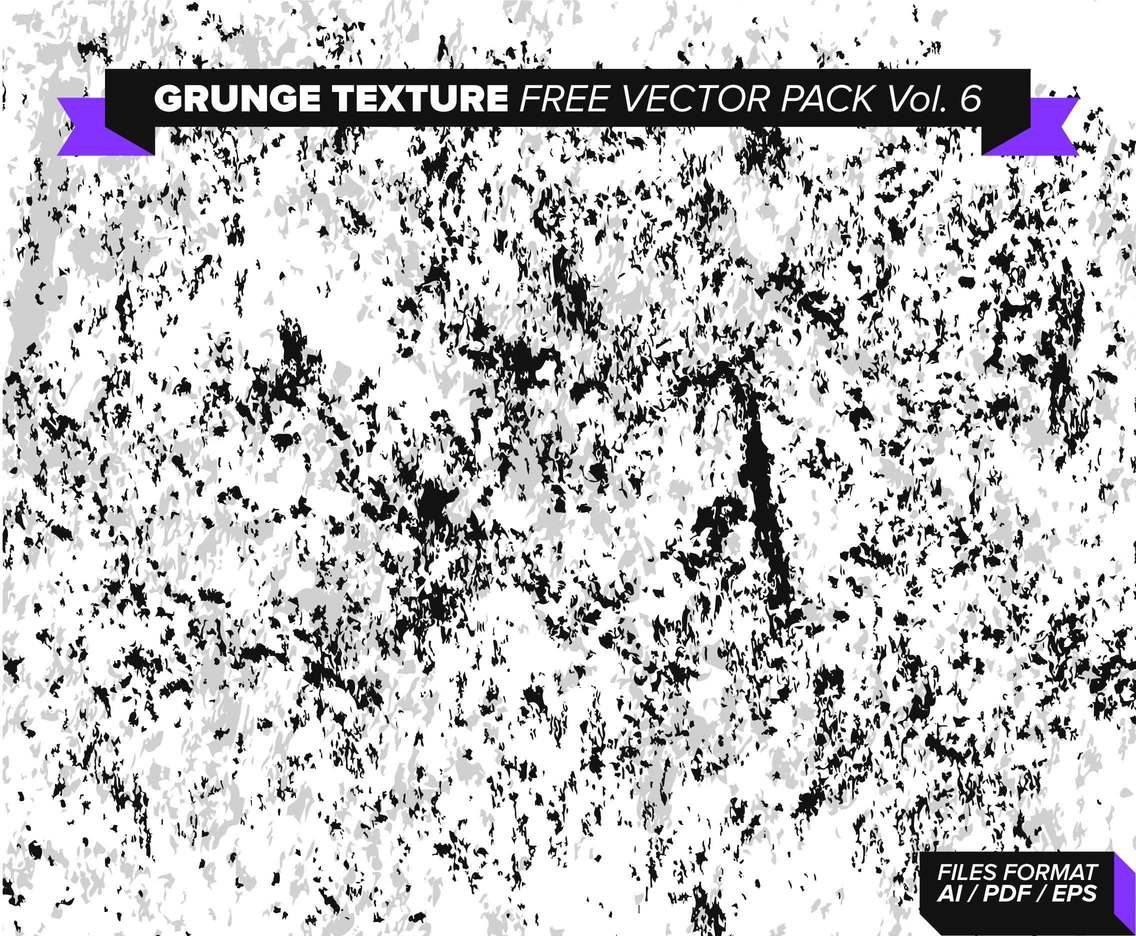 Grunge Texture Free Vector Pack Vol. 6