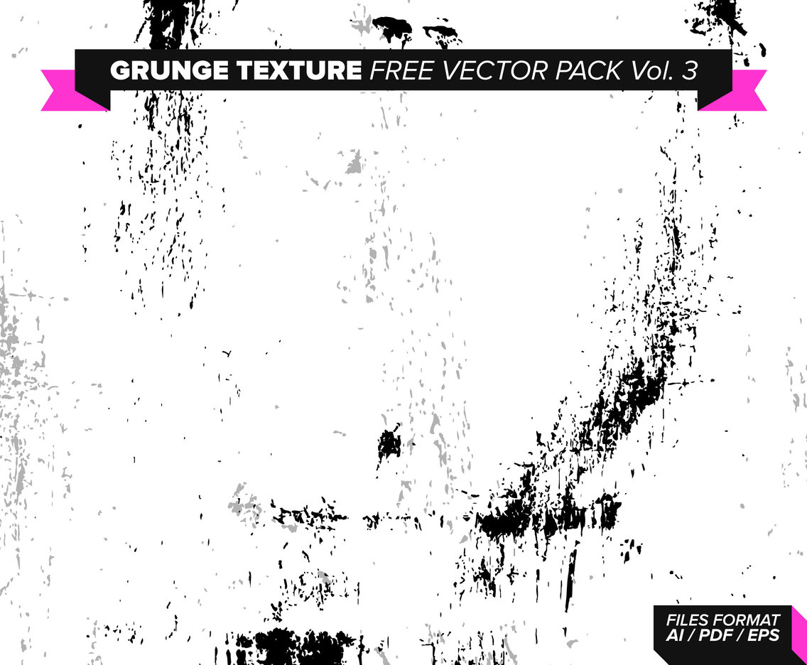 Grunge Texture Free Vector Pack Vol. 3