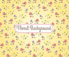 Floral Cream Background