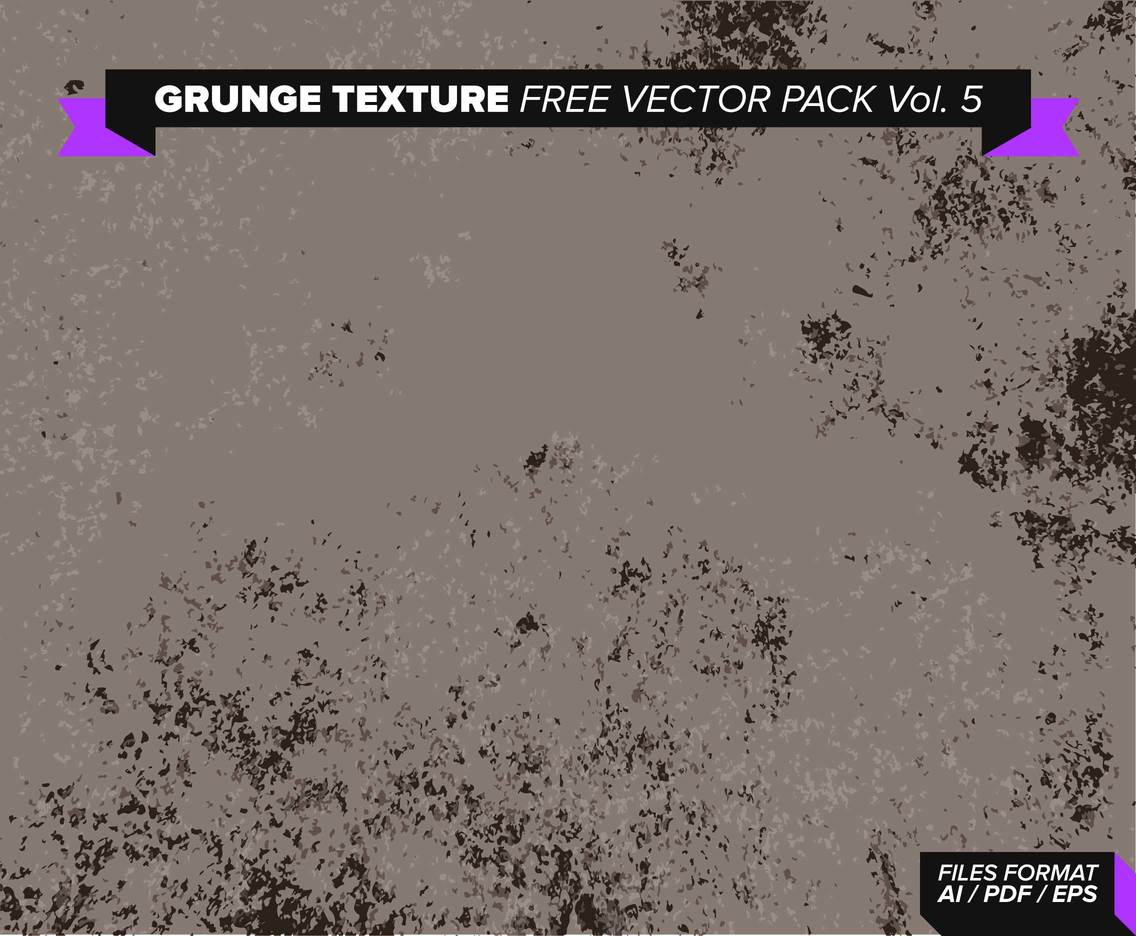 Grunge Texture Free Vector Pack Vol. 5