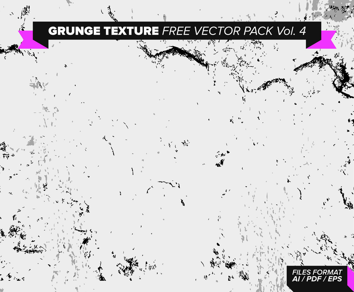 Grunge Texture Free Vector Pack Vol. 4