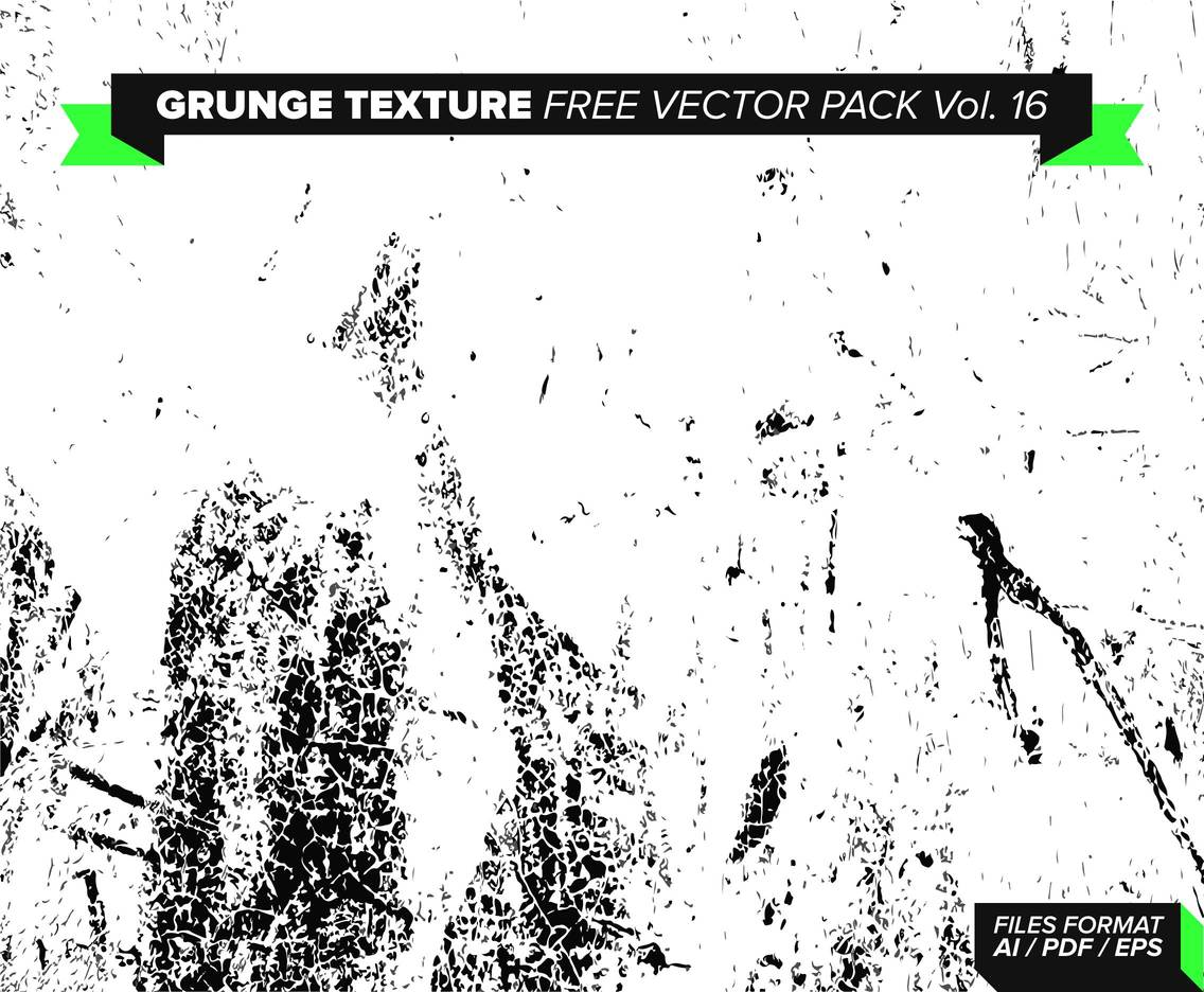 Grunge Texture Free Vector Pack Vol. 16