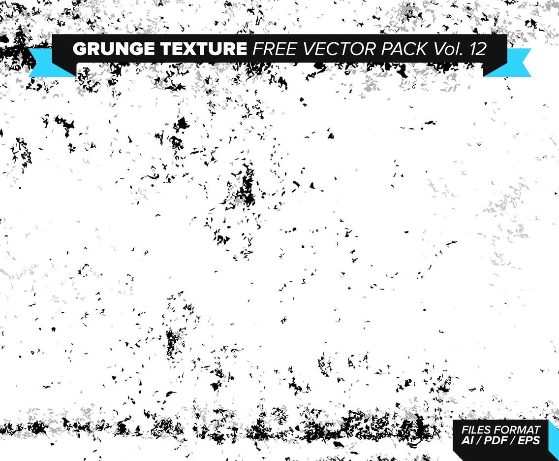 Grunge Texture Free Vector Pack Vol. 12