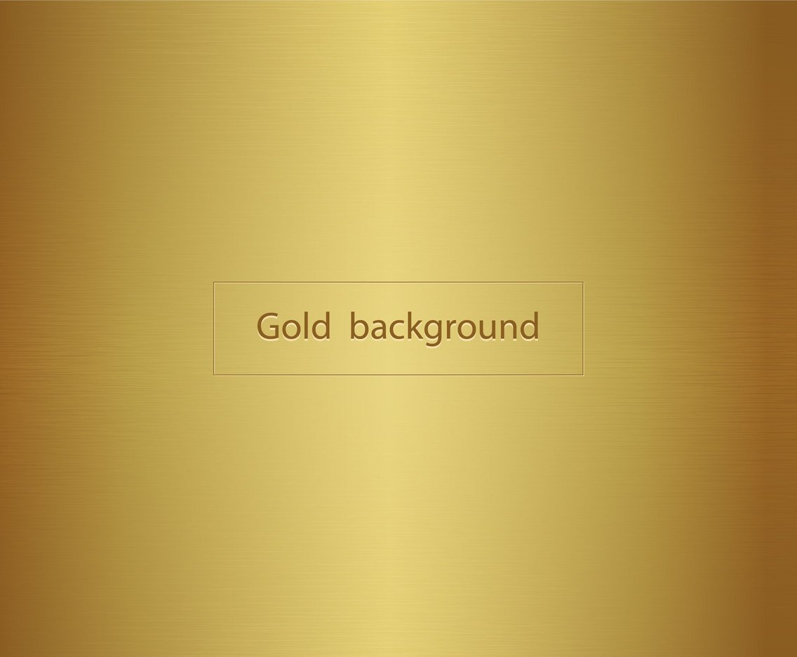 Free Vector Metalic Gold Background