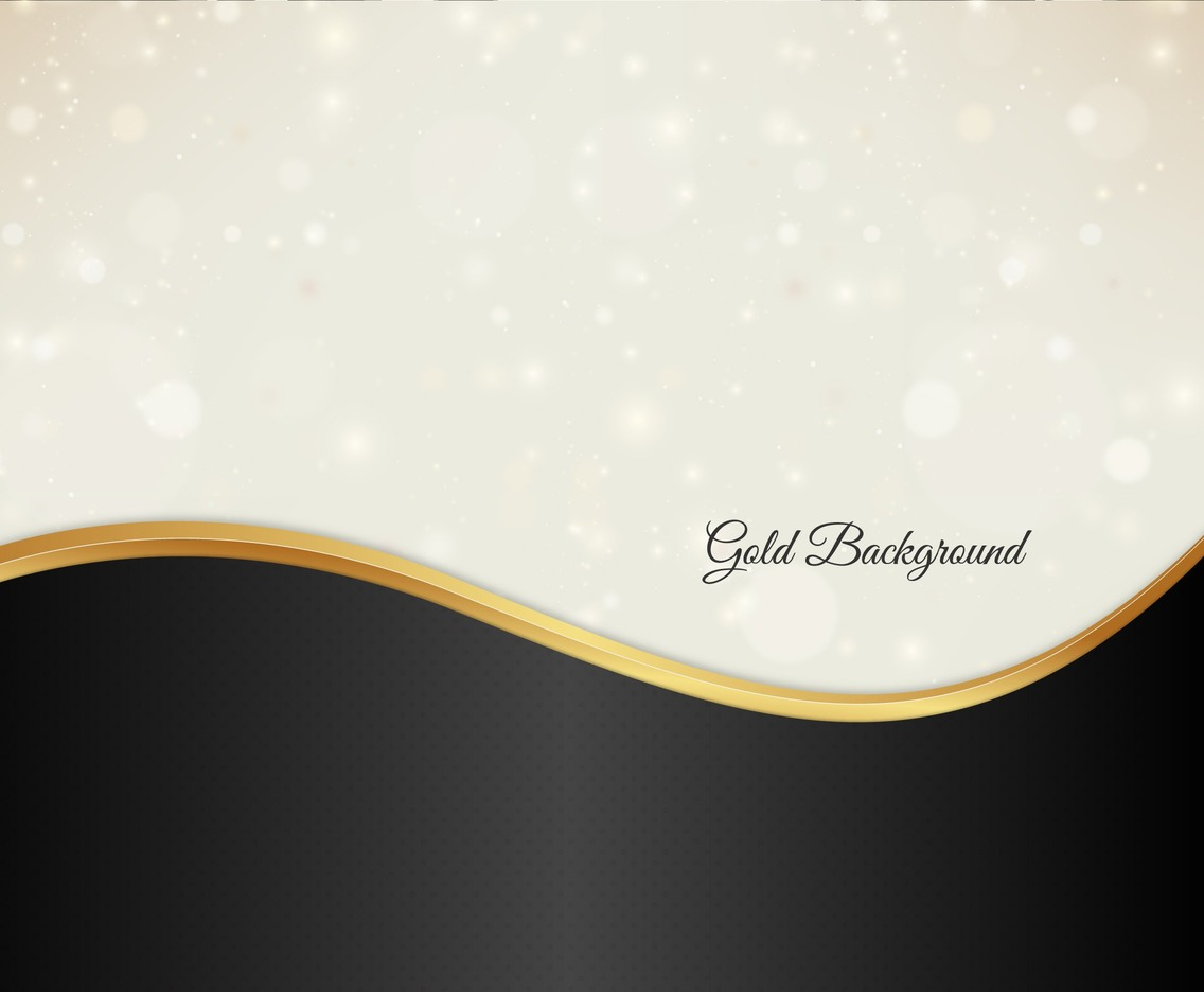 Free Vector Gold Bokeh Background
