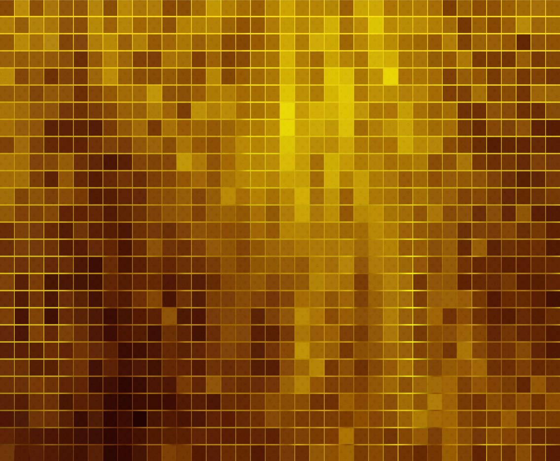 Free Vector Gold Mosaic Background